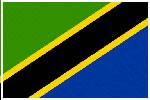 坦桑尼亚国旗